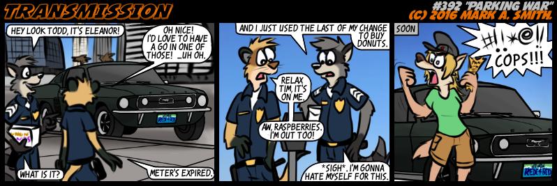 #392 Parking War