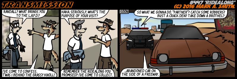 #447 Ridealong