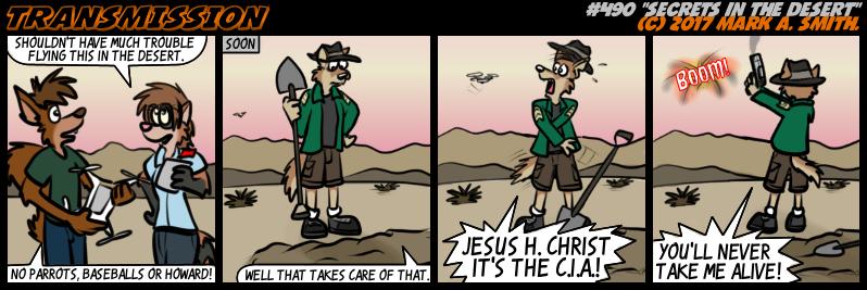 #490 Secrets In The Desert