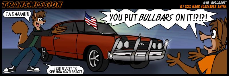 #40 Bullbars