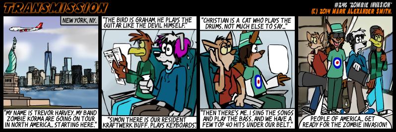 #246 Zombie Invasion